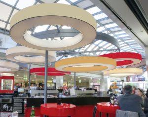 Referenz Ringleuchte DONUT Segafredo Cafébar München