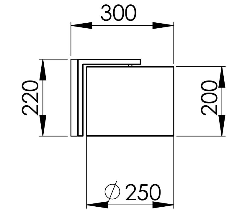 Abmessungen DOXA 30