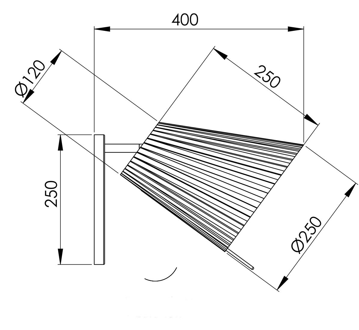 Abmessungen RIVA 40