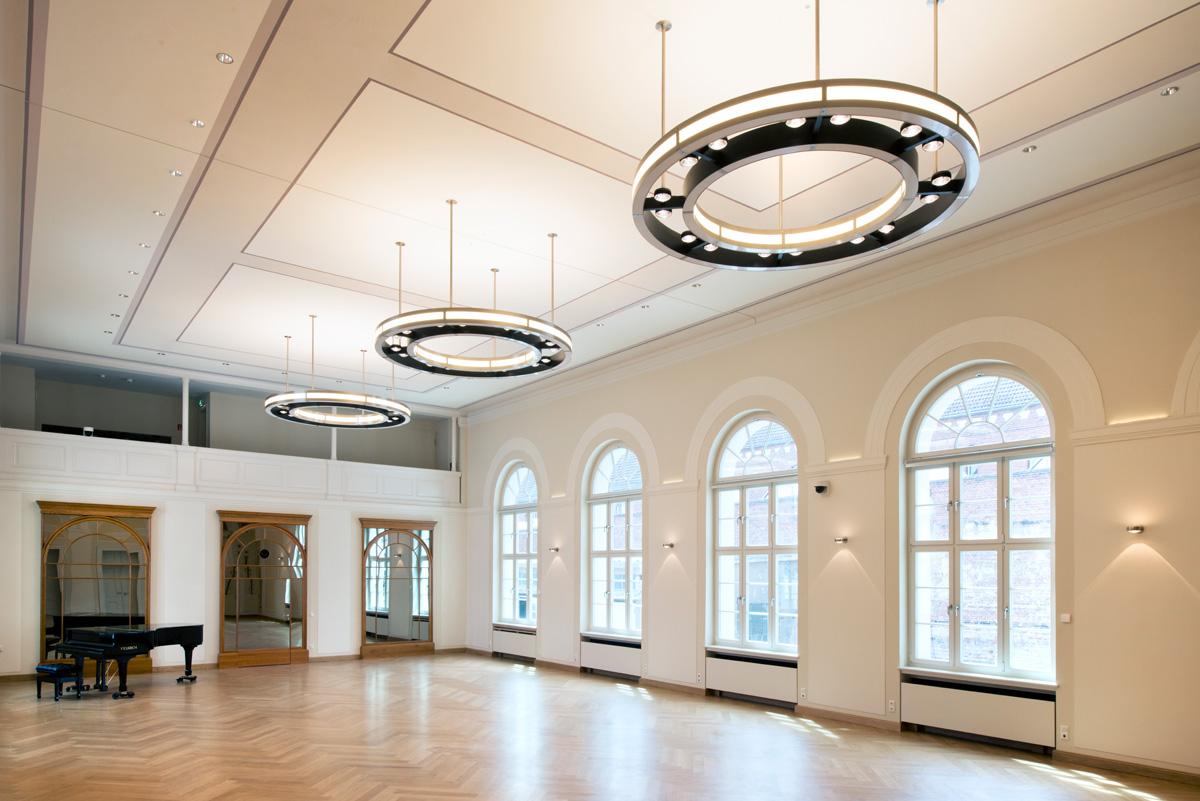 Leuchten Logensaal Universität - Frankfurt Oder