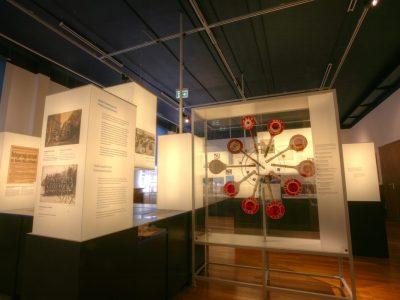 Beleuchtung im Polizeimuseum in Hamburg