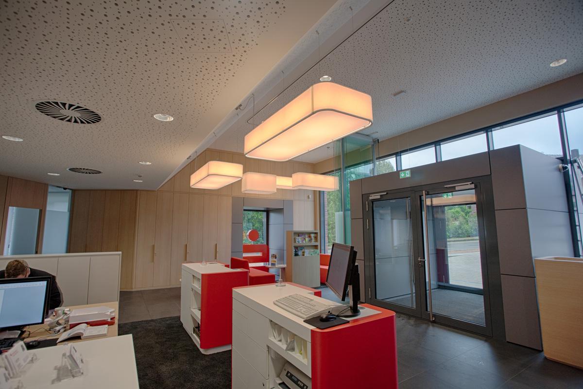Leuchten Bank Peters Design