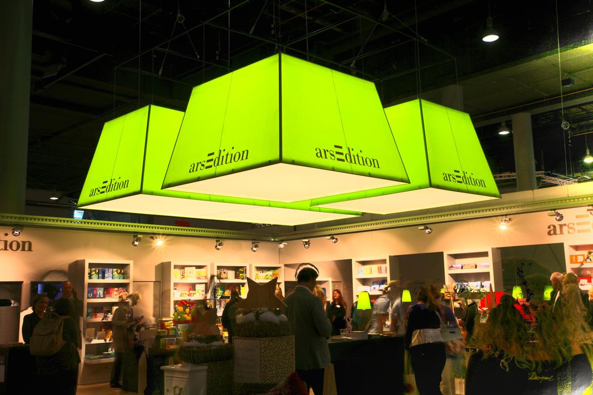Messestand Ars Edition Buchmesse - Frankfurt