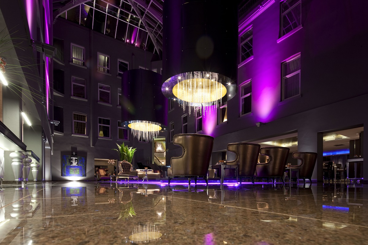Leuchten Lobby Peters Design