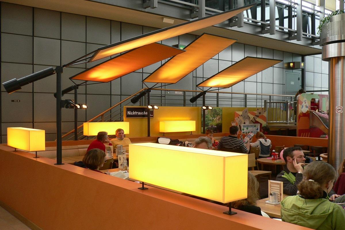 Leuchten Mövenpick Restaurant Airport - Hamburg