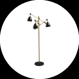 Stehleuchten Petersdesign Leuchten Stehleuchte Flora 160