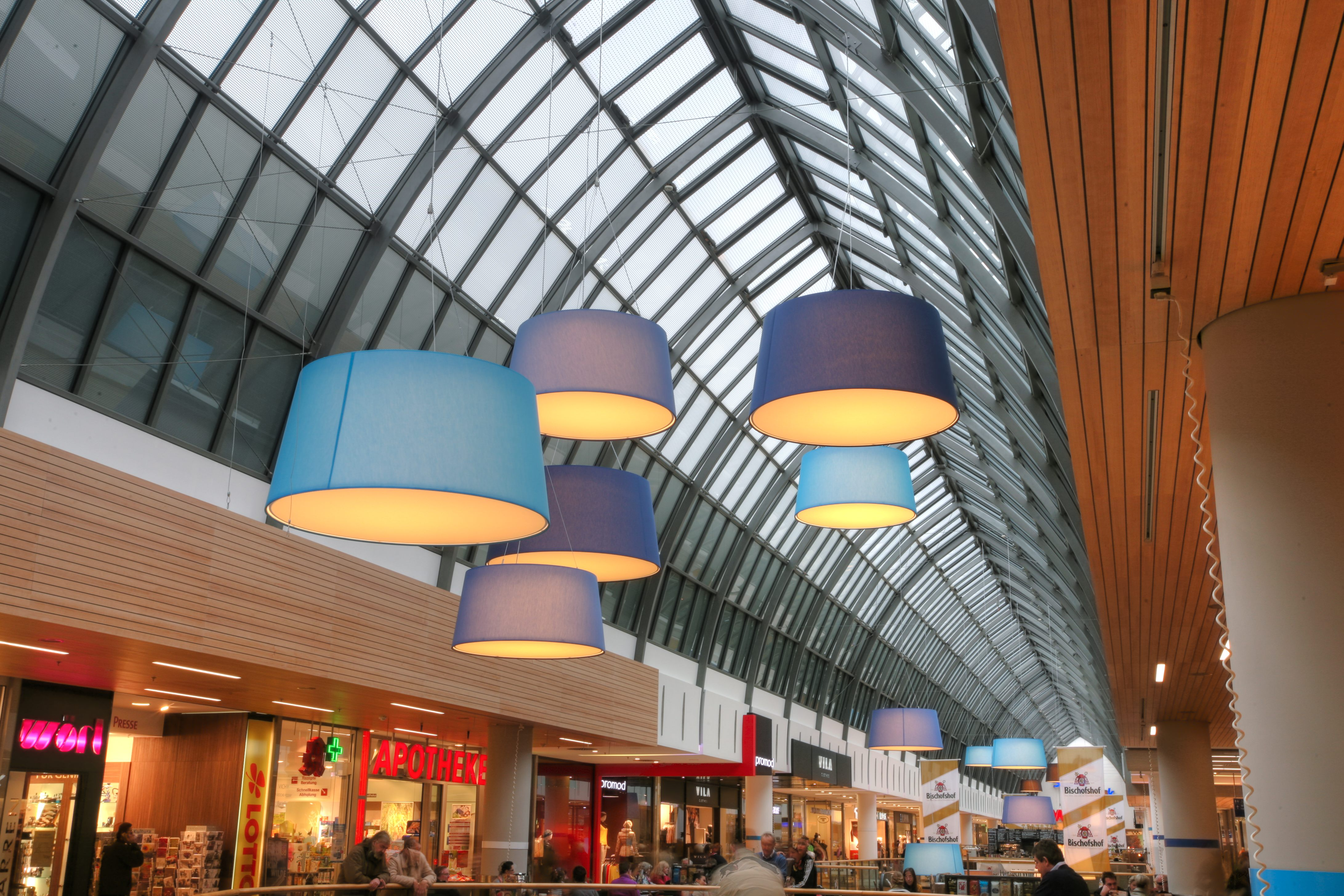 Leuchten Regensburger Arcaden - Regensburg