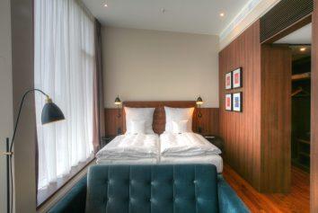 Hotelzimmer Leuchten im Ameron Hotel Speicherstadt - Hamburg