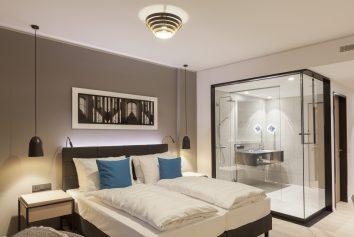 Hotelzimmer Beleuchtung im Radisson Blu Hotel - Mannheim