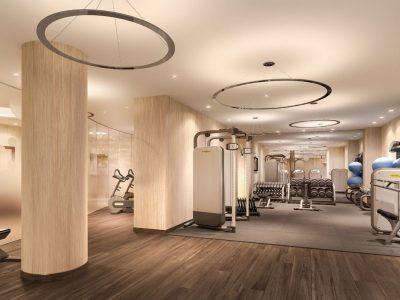 Beleuchtung Fitnessstudio Berlin-Ritz-Carlton