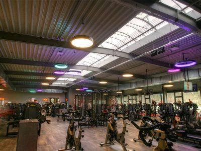 Unsere Beleuchtung im Fitnessstudio FitPlus in Bergkamen