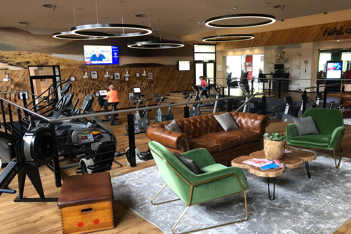 Fitnessstudio-Beleuchtung-Sportforum-Castrop-Rauxel